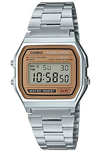 [CASIO] Wristwatch Standard Digital Watch Gold Dial Overseas Model Domestic Manufacturer Warranty A-158WEA-9JF