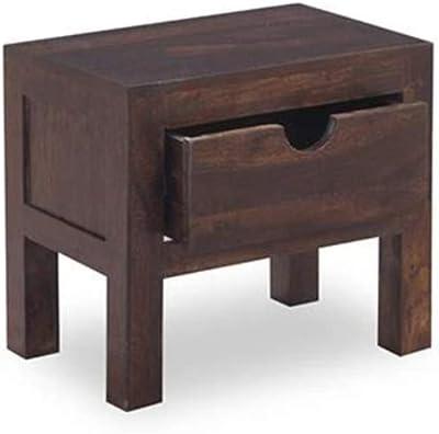 BLS Wood Furniture Solid Wood Elve Bedside Table