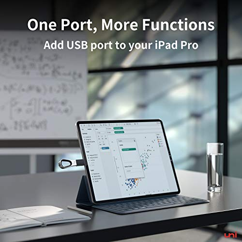 USB C to USB Adapter - 2 Pack , uni(Thunderbolt 3 Compatible) USB to USB C Adapter, Up 5Gbps, USB C Adapter Compatible with MacBook Pro, iPad Air 1010, iPad Pro, Surface Pro, XPS and More - Gray…