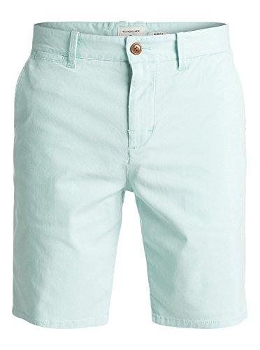 Quiksilver Krandy St Pantalones Cortos, Hombre, Azul (Eggshell Blue-Solid), 28