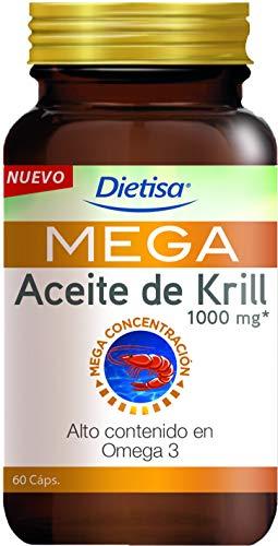 Dielisa - MEGA Aceite de Krill 1.000 mg - 60 cápsulas