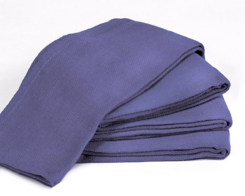 Towels by Doctor Joe Blue 16' x 25' New Surgical Huck Towel, Pack of 12