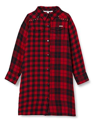 Pepe Jeans Lupe Vestido, Rojo (295), 16 para Niñas