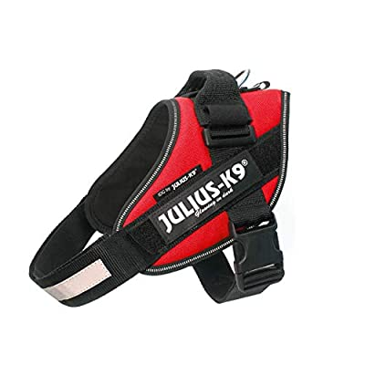 Julius-K9, 16IDC-R-0, IDC Powerharness, dog harness, Size: 0, Red