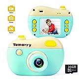YARD Camara Fotos Infantil, Cámara para Niños Digital Videocámara HD de 8MP a Prueba de Golpes Video 1080P para Juguetes Niña 3-10 Años (Tarjeta SD de 16GB incluida)