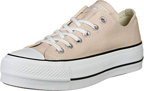 Converse Chuck Taylor All Star Lift Clean Sneakers voor dames, Particle Beige, 41 EU
