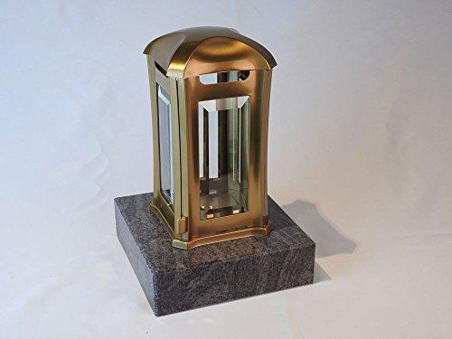 designgrab AML5AGB1Orio Grablampe Venezia aus Edelstahl-bronzefarben, Gold, 13 x 13 x 24 cm