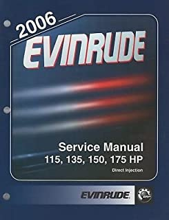 2006 EVINRUDE OUTBOARD 115,135,150,175 HP SERVICE MANUAL 5006580 (339)