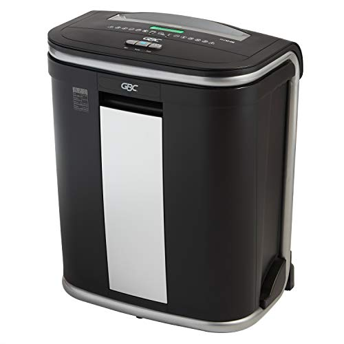 %16 OFF! Swingline GBC Paper Shredder, Auto Feed, 300 Sheet Capacity, Micro-Cut, 5-10 Users, Stack-a...