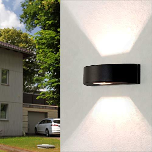 Aplique de diseño económico para alumbrado exterior G9 máx. 25 vatios redondo...