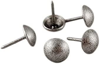 decotacks Upholstery Nails/Tacks 7/16in - 100 Pcs [Anitque Pewter Finish] DX0511APW