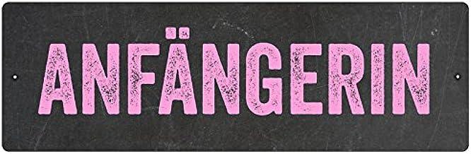 Interluxe Kunststoff Autoschild Mit Saugnapf Autoschild AnfÄngerin Pink Fahranfänger Auto