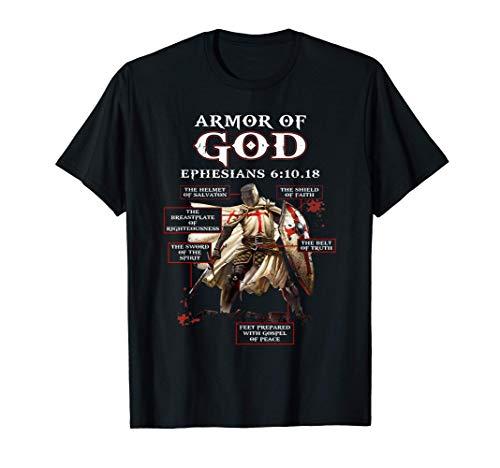 Armor Of God Knight Templar For Men T-Shirt