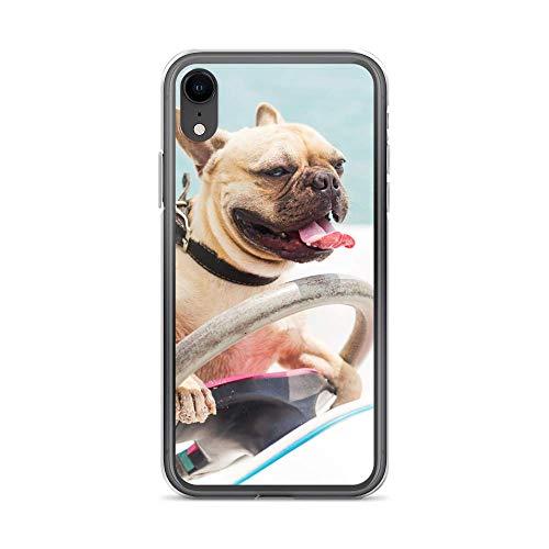 blitzversand Funda para teléfono móvil Boat Trip Relax compatible con LG G6 Perro, protección antigolpes transparente alrededor de protección dibujos animados M2