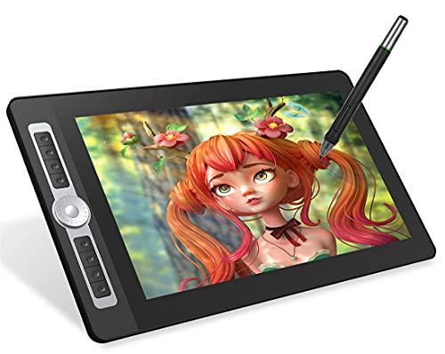 Xyfw 15,6 Pulgadas H-IPS LCD Tableta De Dibujo De Gráficos Pantalla De Dibujo Digital Pad 8192 Tecnología Pasiva De Nivel De Presión