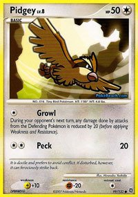 Pokemon - Pidgey (99) - Secret Wonders