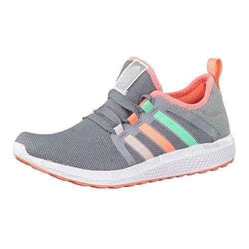 adidas CC Fresh Bounce 3 K, Zapatillas de Running Unisex niños, Gris/Rojo (Gris/Rolhal/Brisol), 29