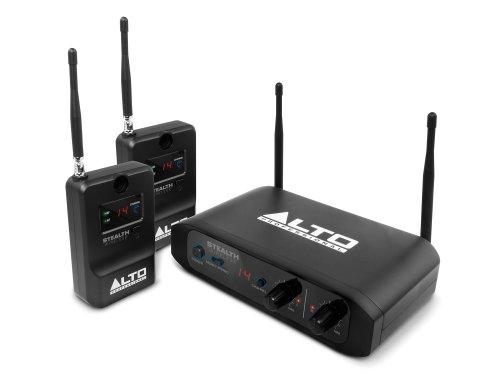 ALTO Professional Stealth Wireless Kit - Trasmettitore + 2 Ricevitori per Collegare senza Fili Mixer e Strumenti a Casse Acustiche
