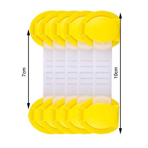 Phy 5Pcs - Cerradura de cajón para niños con protección de Seguridad