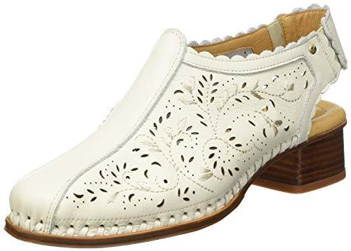 Pikolinos Romana W5Q-1750, Zapatos con Ruedas Mujer, Nata, 36 EU