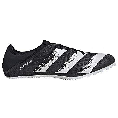 adidas Sprintstar - Zapatillas deportivas para mujer, color negro y blanco, color Negro, talla 36 EU