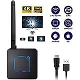 ワイヤレスディスプレイアダプター5G/2.4GワイヤレスHDMIディスプレイテレビモニタープロジェクターへのAndroid iOSの電話タブレットPC用受信アダプタのサポートAirplayのDLNA Miracast