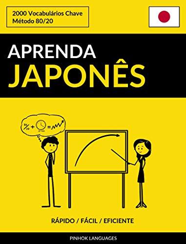 Aprenda Japonês - Rápido / Fácil / Eficiente: 2000 Vocabulários Chave por [Pinhok Languages]