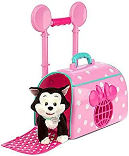 Disney Exclusive Play Set Minnie Mouse and Figaro Pet Travel Carrier
