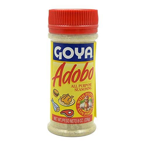 Goya Adobo Seasoning with Pepper, 8oz