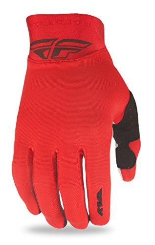 Fly Racing Lite Pro Gants – Rouge, 3 x l