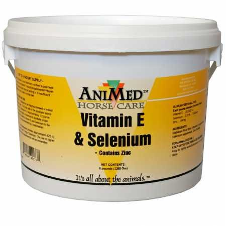 AniMed Vitamin E and Selenium with Zinc 5 lbs