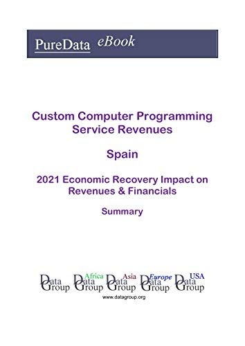 Custom Computer Programming Service Revenues Spain Summary: 2021 Economic Recovery Impact on Revenues & Financials (English Edition)