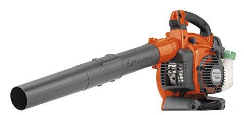 Husqvarna 125BVx - Soplador y aspirador de hojas a gasolina (4,35 kg) Negro, Naranja
