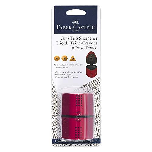 Faber-Castell FC770307 Manual Pencil Sharpener, Blackberry