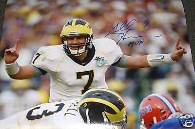 Chad Henne (Michigan Wolverines) Signed Autographed 16x20 Photo (PSA/DNA COA)