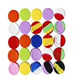 KISEER 30 Pcs 5ml Silicone Wax Containers Assorted...