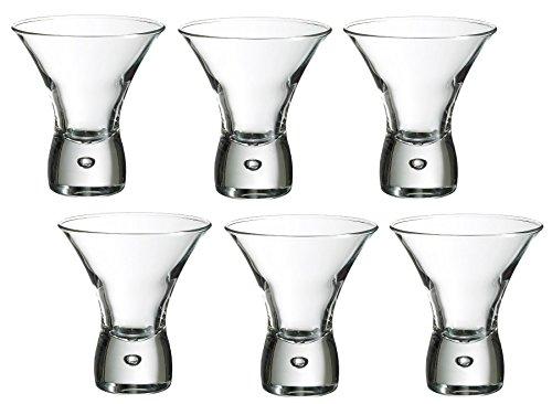 Durobor Juego de 6 Vasos de cóctel, 547/15, Modelo Cancún, Transparentes, Transparente, 24 CL