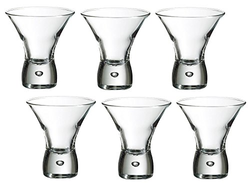 Durobor 547/24 Cancun Coppa gelato/bicchiere da cocktail 240ml, 6 bicchieri, senza contrassegno di riempimento