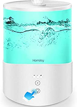 Homasy Essential Oil Diffuser 2.5L CoolMist Humidifier
