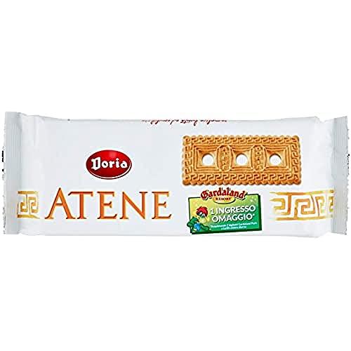 Doria - Atene Biscotti - Ideali per la tua Colazione e Spuntino - Confezione da 500 gr