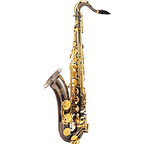 YHL Curved Sopraan Saxofoon Elektrische saxofoon met druppels B (of C) Tune gordelreinigingsborstel reed lanyard handschoenen dubbele fluit voor muziekvrienden