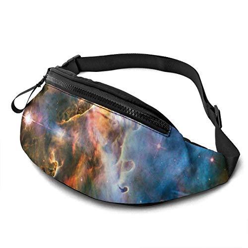 AOOEDM Nebular Image Cinturón para Correr Riñonera Moda Riñonera Bolsa para Hombres Mujeres Deportes Senderismo