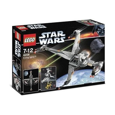 LEGO Star Wars 6208 - B-Wing Fighter - Caza Estelar ala-B