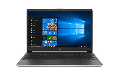 "HP 15s-fq1013ns - Ordenador portátil de 15.6"" FullHD (Intel Core i3-1005G1, 8GB RAM, 512GB SSD, Intel Graphics, Windows 10), Color Plata - Teclado QWERTY Español"