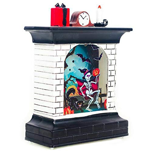 Liamostee Halloween ornament open haard lamp vintage licht vakantie party decoratie