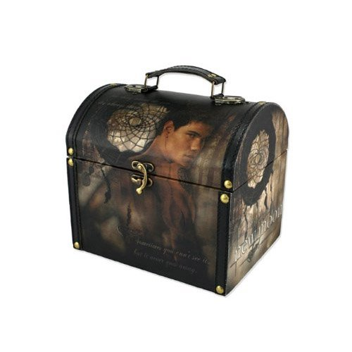 Twilight New Moon 'Jacob and Dreamcatcher' Vintage Carrying Case