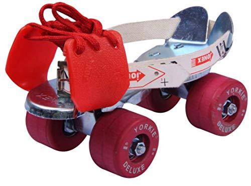JONEX Roller Skates , Roller Skates for Adults , Skates for Adults , Yorkie Adjustable Roller Skates , Outdoor & Indoor Illuminating Roller Skates (Baby)