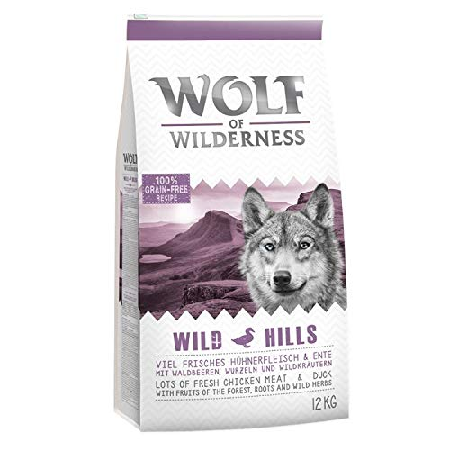 Wolf of Wilderness Adult Wild Hills - Ente- 12 kg