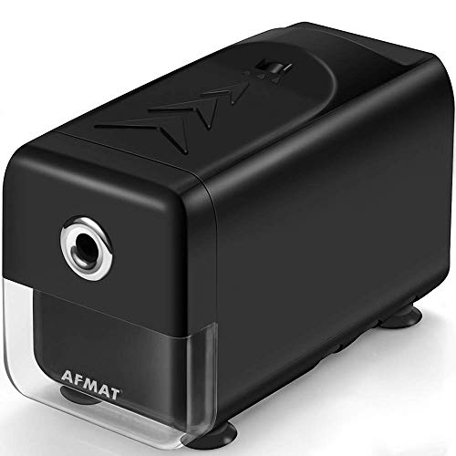 small AFMAT High Performance Pencil Sharpener, Electric Pencil Sharpener, Advertising, Automatic Stop, Super Point, and …