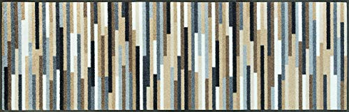 Wash+Dry - Alfombra Mikado Stripes Nature 60x180, Natural